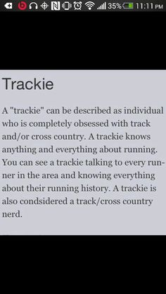 Track Is Life ❤ #Trackie #TrackNation #XC