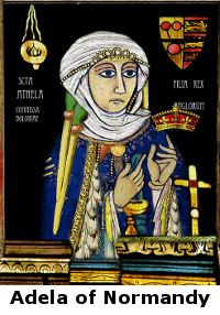 Adele Of Normandy - 26th Paternal Great Grandmother. Daughter of Rollo Duke of Normandy and wife of William III, Duke of Aquitaine