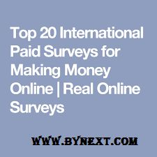 Top 20 Paid Online Survey Sites for Money 2018 – 6000$ Earn per Month
