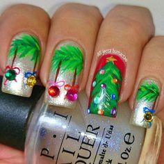 christmas by jeccabumactao #nail #nails #nailart
