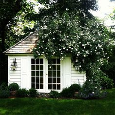 """My beautiful garden house from Hillbrook Collections."" Alison Carabasi, Bryn Mawr, PA"