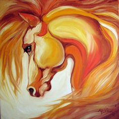 Art: SIENNA GOLD ~ EQUINE ART by Artist Marcia Baldwin