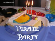 pirate party from #RainyDayMum
