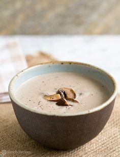 Cream of Mushroom Soup Recipe - #BestForHealthy, #FavoriteFood, #Soup