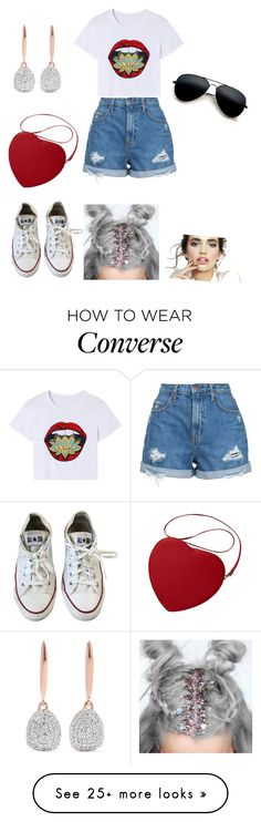 """Untitled #16"" by tane4ka170 on Polyvore featuring Nobody Denim, Converse, Monica Vinader and statementbags"