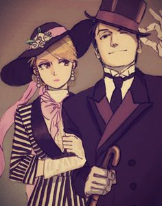 Roy and Riza!
