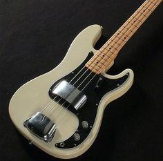 Slab bodied Precision Bass Fender Precision Bass, Fender Bass, Fender Guitars, Bass Guitars, I Love Bass, Fender Bender, Fender Squier, Vintage Guitars, Musical Instruments