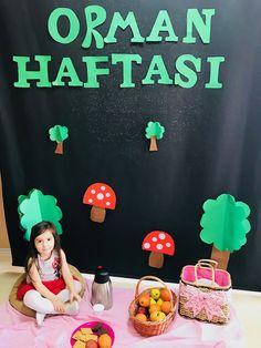 Orman haftası School Teacher, Pre School, Crafts For Kids, Diy Crafts, Art Model, Conte, Preschool Activities, Kids And Parenting, Special Day
