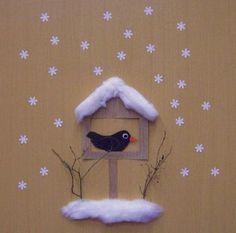 zimní dekorace dveří - fotoalba ulivatelu - D?ma.cz Winter Activities For Kids, Christmas Activities, Mushroom Crafts, Snow Theme, Winter Art Projects, Cool Paper Crafts, Christmas Crafts For Kids To Make, Up Book, Winter Kids