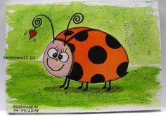 Glückskäfer Lotte mit Herzchen