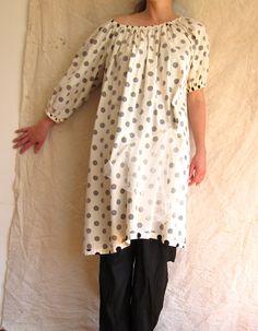 rowena sartin - backward dot dress. use dress 01, Elegance and Simplicity.
