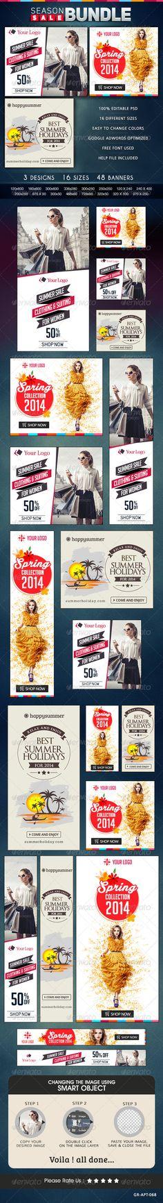 Season Sale Banner Bundle - 3 Sets Template PSD | Buy and Download: http://graphicriver.net/item/season-sale-banner-bundle-3-sets/8567326?WT.ac=category_thumb&WT.z_author=doto&ref=ksioks