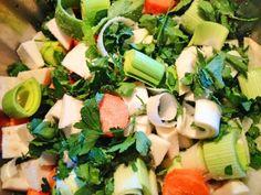 Selbstgemachte Gemüsebrühe OHNE trocknen, kochen oder einfrieren! Super Tipp!