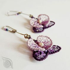 earrings Orchidea, nycrame; by Nady (http://www.nady.cz/nausnice/nausnice-orchidea-131/)