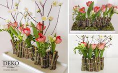 DIY Blumendeko/Tischdeko mit Holz DekoKitchen