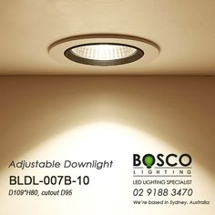 BoscoLighting Recessed Adjustable Downlight is a great addition to your lighting projects. Offered in different wattages for varying ceiling heights, it is great for highlighting or where general lighting is required. Please contact us for more info! Recessed Downlights, Light Project, Ceiling Height, Reception Areas, Lighting, Projects, Log Projects, Blue Prints, Lights