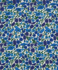 Petal and Bud C Tana Lawn from the Liberty Art Fabrics collection.  Petal and Bud is a rescaled version of the Liberty Classic Design 'Poppy and Daisy'. The original design has been in and out of the Liberty Art Fabric Collections since the early 1900s.