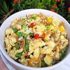 Resep olahan telur sederhana Instagram Easy Sauce Recipe, Sauce Recipes, Food N, Food And Drink, Egg Recipes, Cooking Recipes, Recipies, Cooking Food, Malay Food