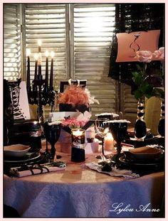 Lylou.Anne Collection: Ma table Esprit Chantal Thomass...