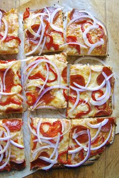 You know when you feed your sourdough starter and you start by getting rid of most of it, saving just a little bit? Don't ditch that excess sourdough starter! Turn it into sourdough pizza crust. Sourdough Pizza Crust - New Life for a Sleepy Starter! King Arthur Flour