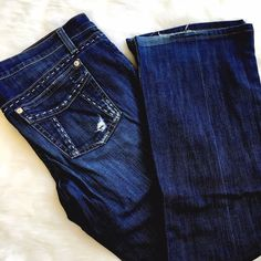 "Joe's Jeans Provocateur Cut Distressed denim from top brand Joe's Jeans! Hemmed to 28"" inseam, gently loved. Joe's Jeans Jeans Boot Cut"
