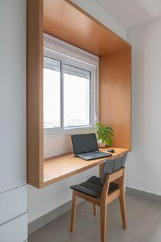 Small House Design, Home Room Design, Home Office Design, Interior Design Inspiration, Decor Interior Design, Tiny Home Office, Study Table Designs, Office Pods, House Rooms