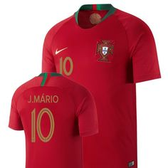 f5665d92c09 Men  10 J.Mario Jersey Home Portugal National 2018 FIFA World Cup