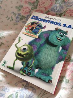 Meu mangá de Monstros S.A. e Lilo & Stitch <3