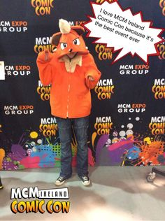 I love MCM Ireland Comic Con because it's the best event ever #ComicCon #Ireland #Pixe