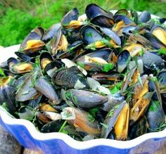"""French Mussels: """"This was my first time making mussels and they came out perfectly. They were so delicious and tender."""" -Cookworm"""