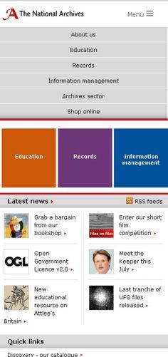 Responsive homepage 2013
