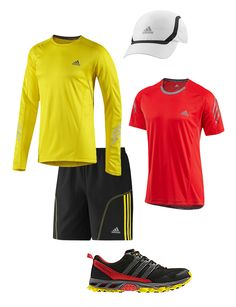 My fitness ideas: Running - Get the gear, bold brights #johnlewis #fitness