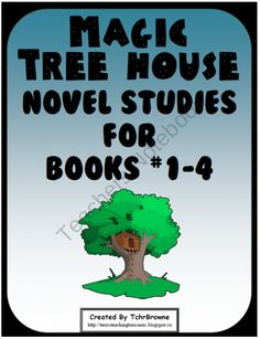 Magic Tree House Novel Studies for Books 1-4 from TerrisTeachingTreasure on TeachersNotebook.com (121 pages)  - Get chapter questions and extra unit activities, for the first 4 Magic Tree House Books.