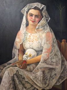 Mandragora , Lady in White - Diego Rivera , 1939 Mexican, 1886-1957 Oil on canvas, 120.6 x 91.4 cm San Diego, Mus. of Art