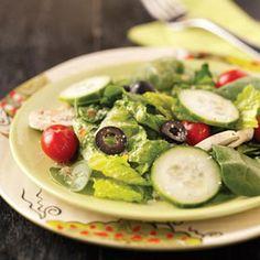 Veggie Tossed Salad Recipe | Taste of Home Recipes
