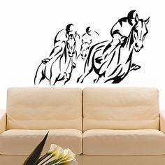 Wall Decal Vinyl Sticker Sport Gym Horserace Decor Sb1043 ElegantWallDecals http://www.amazon.com/dp/B016YAY7NU/ref=cm_sw_r_pi_dp_uj6lwb1KX9WFP