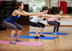 We've got all the moves to strengthen and tone your glutes, thighs and legs. Read on for workout videos from fitness experts. Are you ready to work your butt off? Tone Your Butt in 10 Minutes Workout. Fitness Workouts, 7 Workout, Fitness Herausforderungen, Plyometric Workout, Plyometrics, Toning Workouts, Workout Challenge, Health Fitness, Simple Workouts