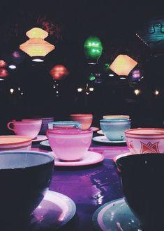 Tea cups, mad tea party