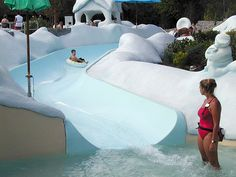 Blizzard Beach - Tikes Peak Toddler Area