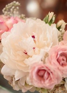 Soft pink peonies?