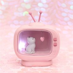 New Arrivel Cuet Cat Home Decoration Light Pink Color Baby Kids lampara bebe Battery Resin Material Warm Bedroom Mini Lamp-in LED Night Lights from Lights & Lighting on AliExpress Kawaii Bedroom, Vogue Kids, Warm Bedroom, Kawaii Cat, Kawaii Stuff, Unique House Design, Cute Room Decor, Kids Decor, Baby Hamster