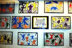 Keith Haring Figure Drawing and Complimentary Colors: Art 1?
