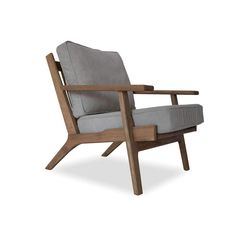 Beckett Mid-Century Modern Lounge Chair