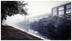 Started my day with a #wander along #RegentsCanal to #limehousebasin. Thick #fog, thicker #autumnleaves and lashings of #atmosphere. #Autumn, you rock.  #London #MileEnd #fallcolors #canal #towpath #dawn #wanderlust #everydayexplorer #countingsteps #moody #nature #greatoutdoors #reflection #contrast