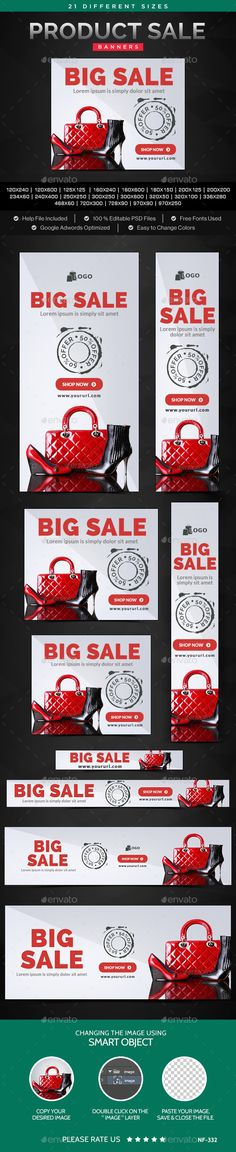 Sale Web Banners Template. Download: http://graphicriver.net/item/sale-banners/11214460?ref=ksioks