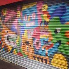 Street art in Brixton, London