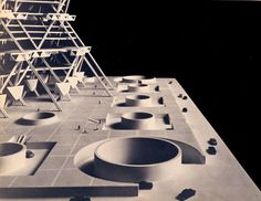 City Tower proposal (1952-57) | Louis Kahn
