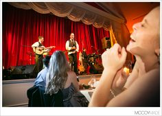 Groom singing to Bride at Grand Hotel in the Theater Room on Mackinac Island - 2013 McCoy Made Photography