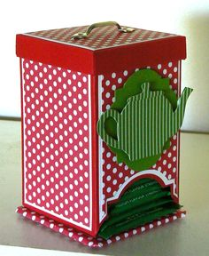 Looking for Custom Dispenser Packaging Boxes at affordable rates? We offer Finest quality Custom Printed Cardboard Dispenser packaging boxes. 3d Paper Crafts, Diy And Crafts, Tea Box, Tea Caddy, Craft Box, Craft Ideas, Box Packaging, Cardmaking, Decorative Boxes