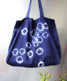 What You'll Be CreatingLove the look of shibori? In this tutorial, you'll learn how to create a large tote bag using dyed shibori fabric. This is the second part to